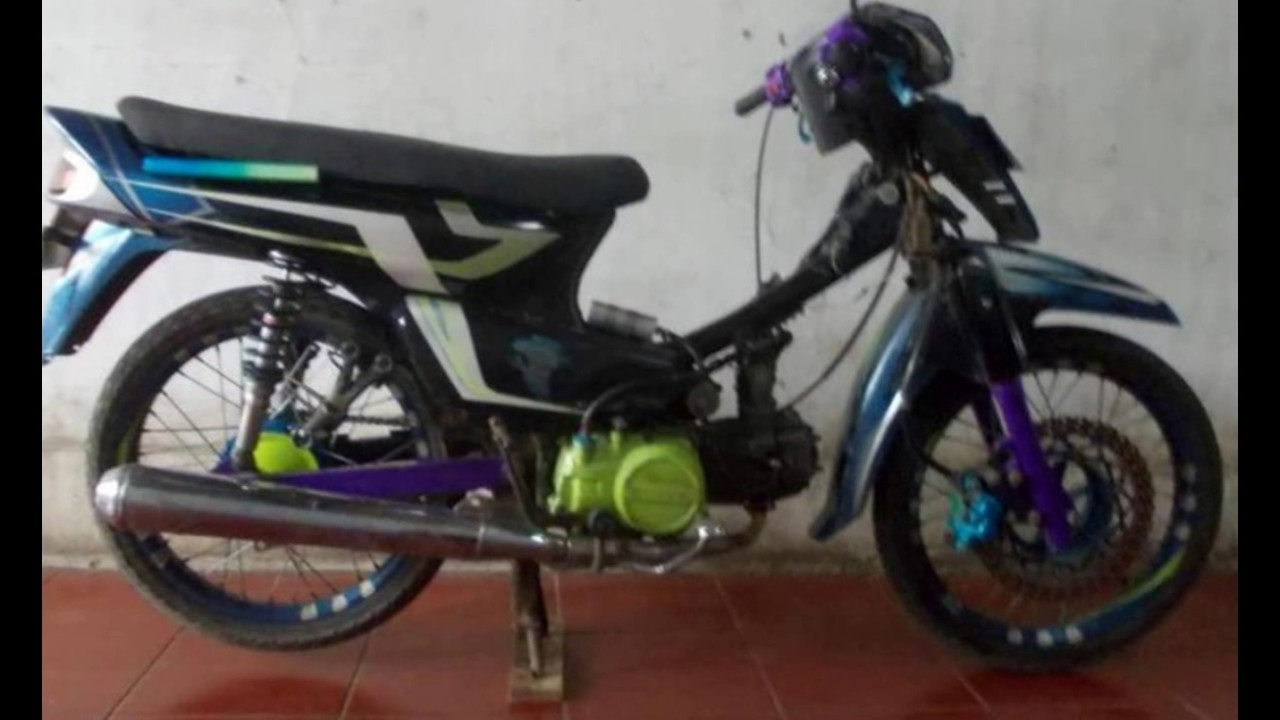 Cah Gagah Video Modifikasi Motor Honda Grand Racing Style Keren