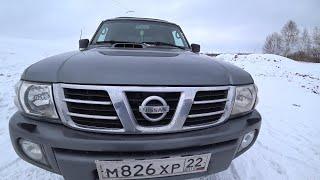 Тест Драйв.  Обзор Nissan Patrol Кузов Y61 ZD30 дизель.