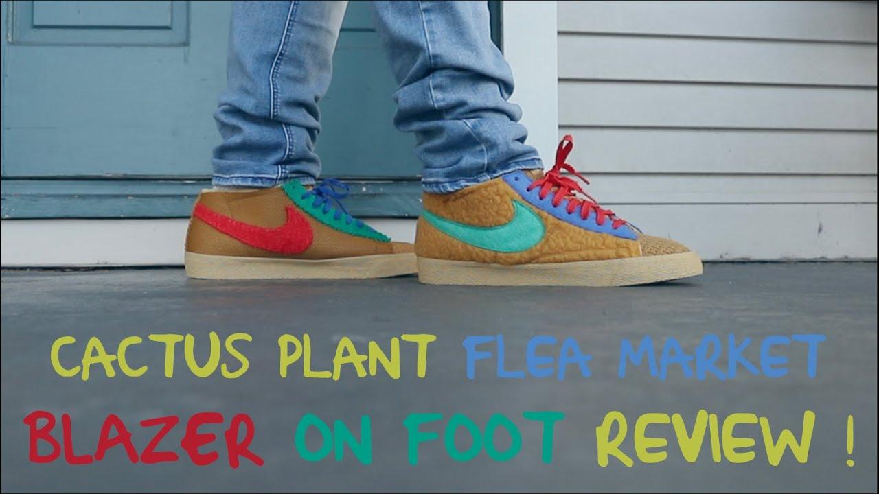 Cactus Plant Flea Market Blazer On Foot ...