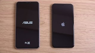 Asus Zenfone 5Z vs iPhone X - Speed Test!