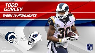Todd Gurley Highlights | Rams vs. Titans | NFL Wk 16 Player Highlights