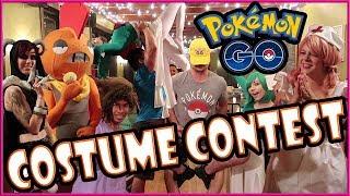 POKEMON COSTUME CONTEST + RAIDING + MORE in POKEMON GO!