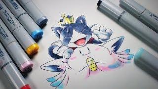 Final Fantasy VII Meets Pokemon (Cait Meowth)
