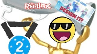 SECOND! FIRST SHOULD HAVE BEEN MINE!!| Roblox Design It