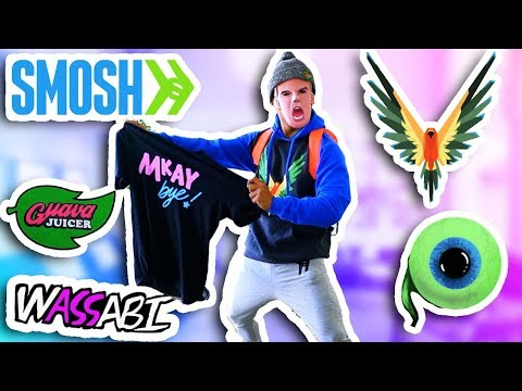 Buying More YouTuber Merch and Wearing It!