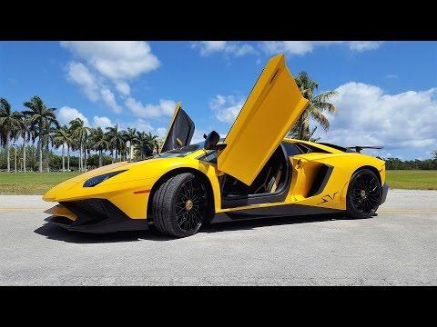 Lamborghini Aventador Sv Lp 750 4 Superveloce Start Up Ride Exhaust