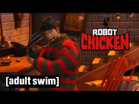 Robot Chicken | Freddy Krueger's Origin Story | Adult Swim UK 🇬🇧