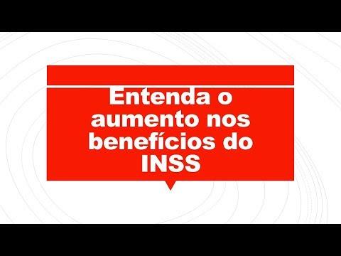 Reajuste dos benefícios pagos pelo  - INSS