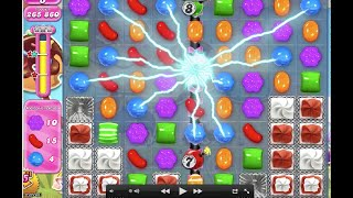Candy Crush Saga Level 744 with tips 3*** No booster