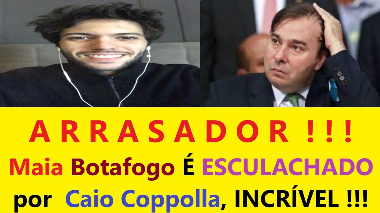 INCRÍVEL! Caio Coppolla ESCULHAMBA Rodrigo Maia porFALA contra Bolsonaro hoje Caio Coppolla CNN Hoje