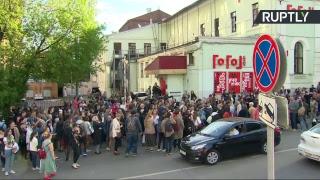 Обыски в московском театре «Гоголь-центр» — LIVE