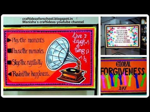 bulletin board on gramophone inspirational bulletin board youtube