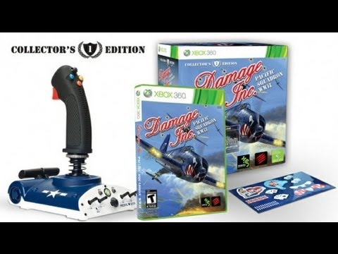 Damage Inc. Pacific Squadron WWII Collector's Edition Xbox 360