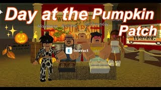 Roblox Bloxburg | Day at the Pumpkin Patch With Daughter