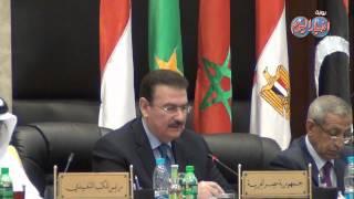 كلمة وزير النقل في مؤتمر وزراء النقل العرب بالأكاديمية البحرية