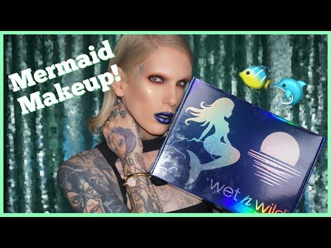 Thumbnail: MERMAID MAKEUP?! TRYING THE *NEW* WET N WILD COLLECTION!