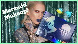 Repeat youtube video MERMAID MAKEUP?! TRYING THE *NEW* WET N WILD COLLECTION!