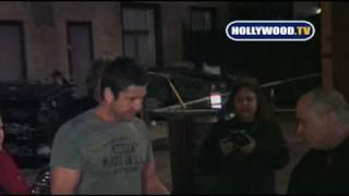 Gerard Butler Leaves Bar Delux in Hollywood.
