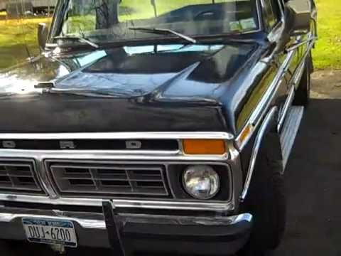 1977 Ford F150 Trailer Special 400 Small Block Youtube