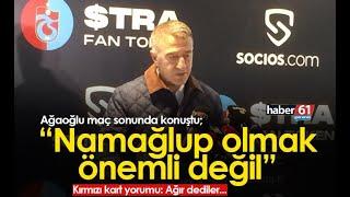 Ahmet Ağaoğlu: Namağlup olmak önemli değil