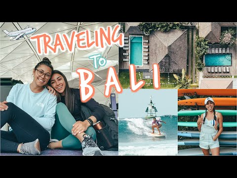 I Went To Bali For A Surf Camp! | Bali Vlog 1
