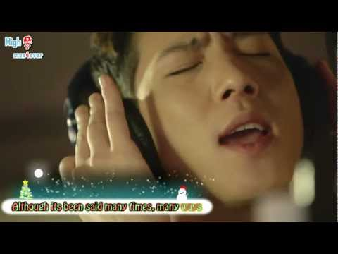 The Christmas song (by Shin minchul) with lyrics