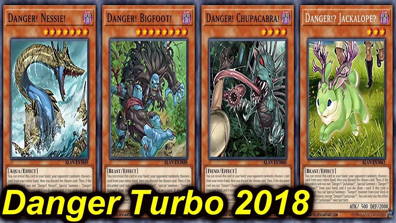 【YGOPRO】DANGER TURBO DECK 2018 - YouTube