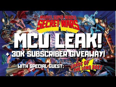 MCU SECRET WARS LEAK + 30K SUBSCRIBER GIVEAWAY