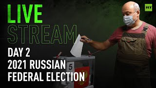 Russian parliamentary elections 2021   Day 2