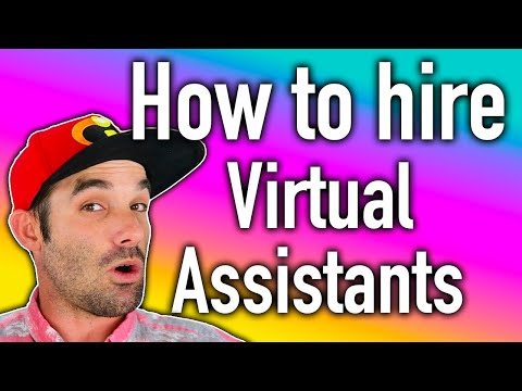 How to hire a virtual assistant for your Ecommerce business