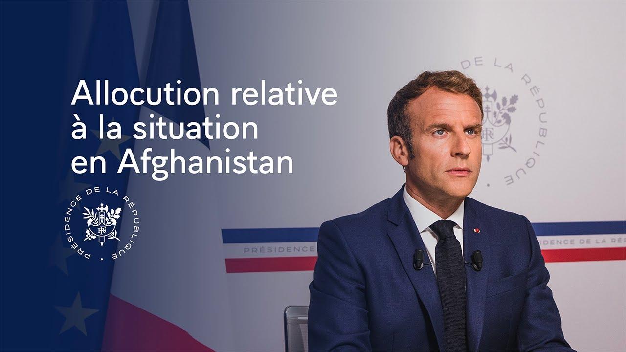 AFGHANISTAN _ Retrouver l'allocution du Président