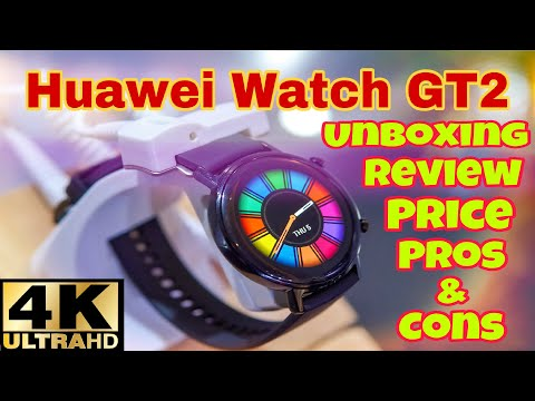 Huawei Watch GT 2 Review, Features, Price and Unboxing