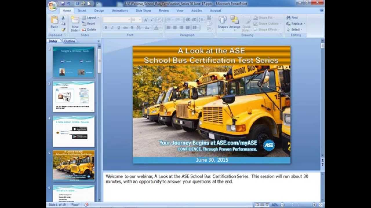 A Look At The Ase School Bus Technician Certification Test Series