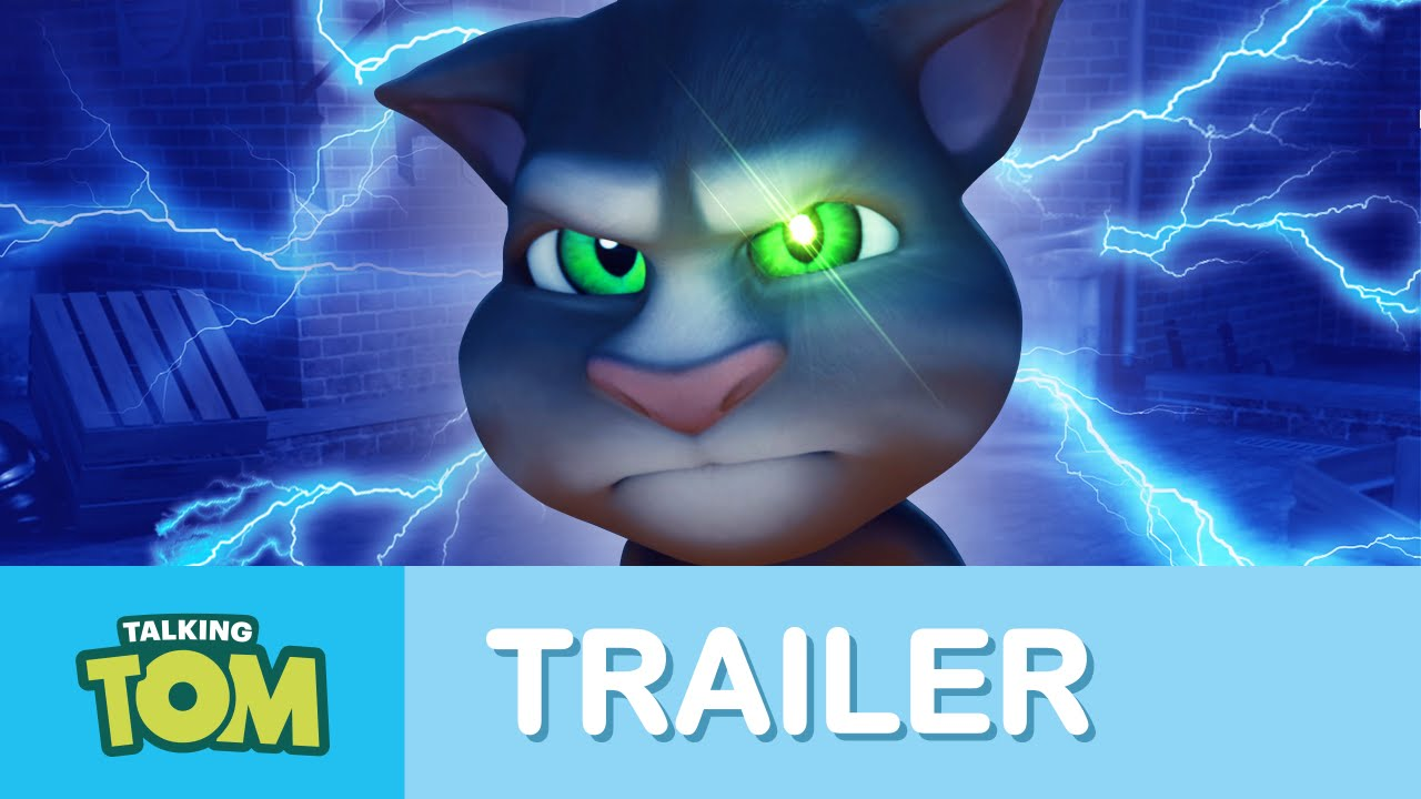 Talking Tom Cat The Legend Is Back Official Trailer Youtube