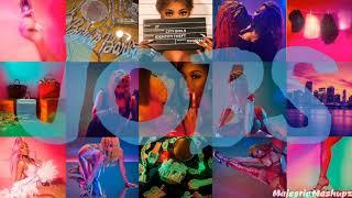 City Girls - Jobs (feat. Nicki Minaj) [MASHUP]