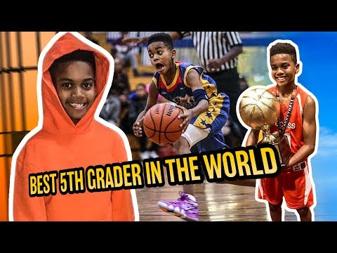 Im The BEST 5th Grader In The World. Magic Mel Takes Us Through EPIC WORKOUTS & Life In The Bronx