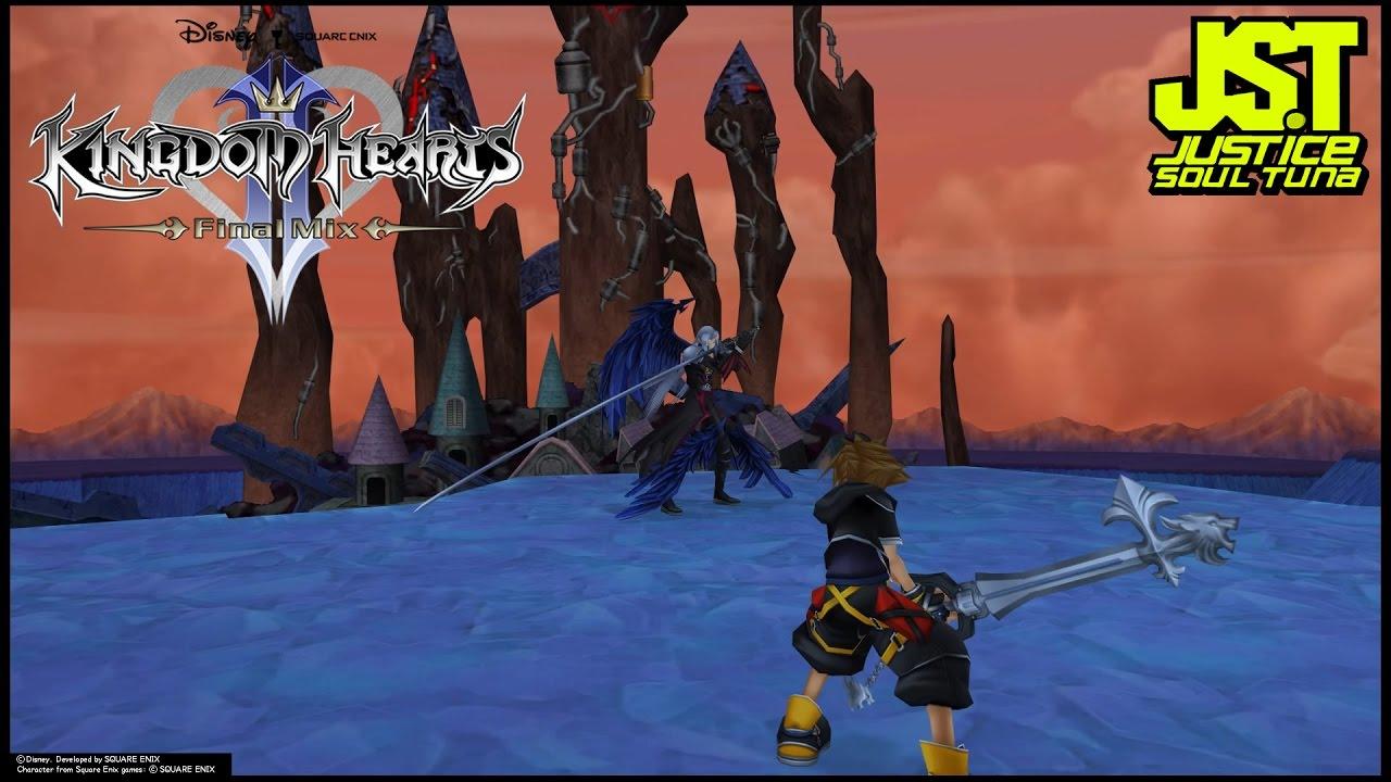 Kingdom Hearts Ii Final Mix Sephiroth Boss Fight Normal Mode Lvl 60 Attempt