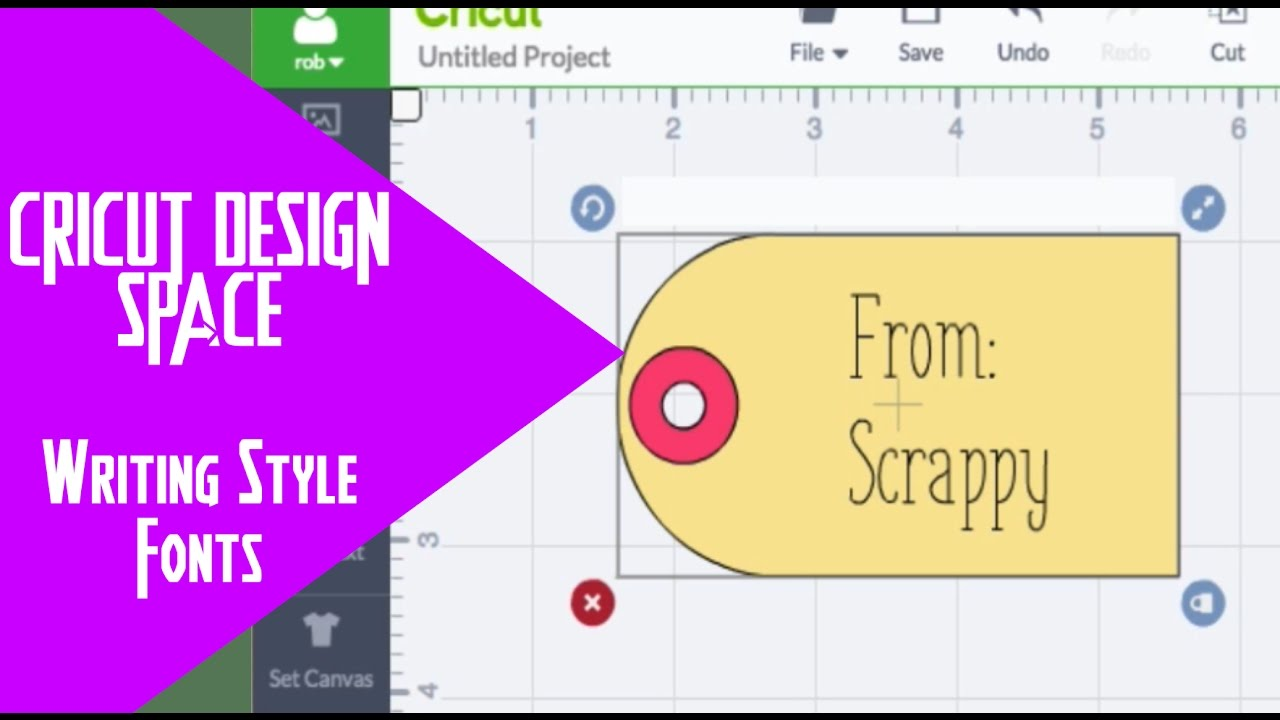 Cricut Design Space - Where Can I Find Writing Style Fonts in Design Space?