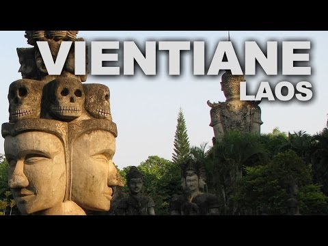 Vientiane, the Capital of Laos