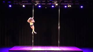2018 my second pole dance competition