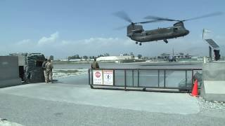 Deputy Secretary of Defense Visits Jalalabad by Helicopter
