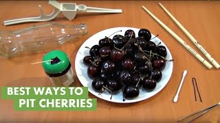 Life hack: Top 5 ways to pit cherries