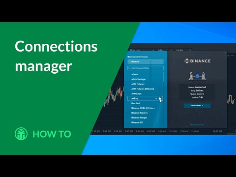 How to: connections manager