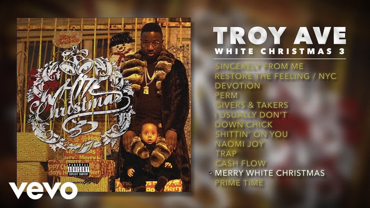 Troy Ave - Merry White Christmas (Audio) - YouTube
