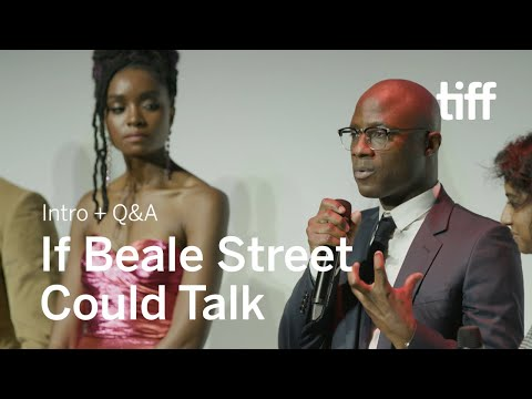 IF BEALE STREET COULD TALK Cast and Crew Q&A | TIFF 2018