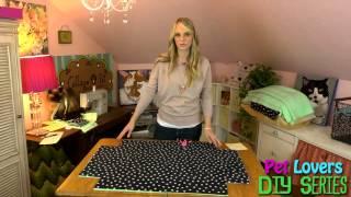 Pet Diy Series - Episode 1: Doggy Pillow/bed