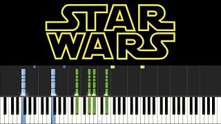 Star Wars - Main Theme (Piano Tutorial + sheets)
