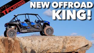 We Didn't Expect It to Be So Fast! Can a New Polaris RZR Turbo Outperform a Lifted Jeep Wrangler?