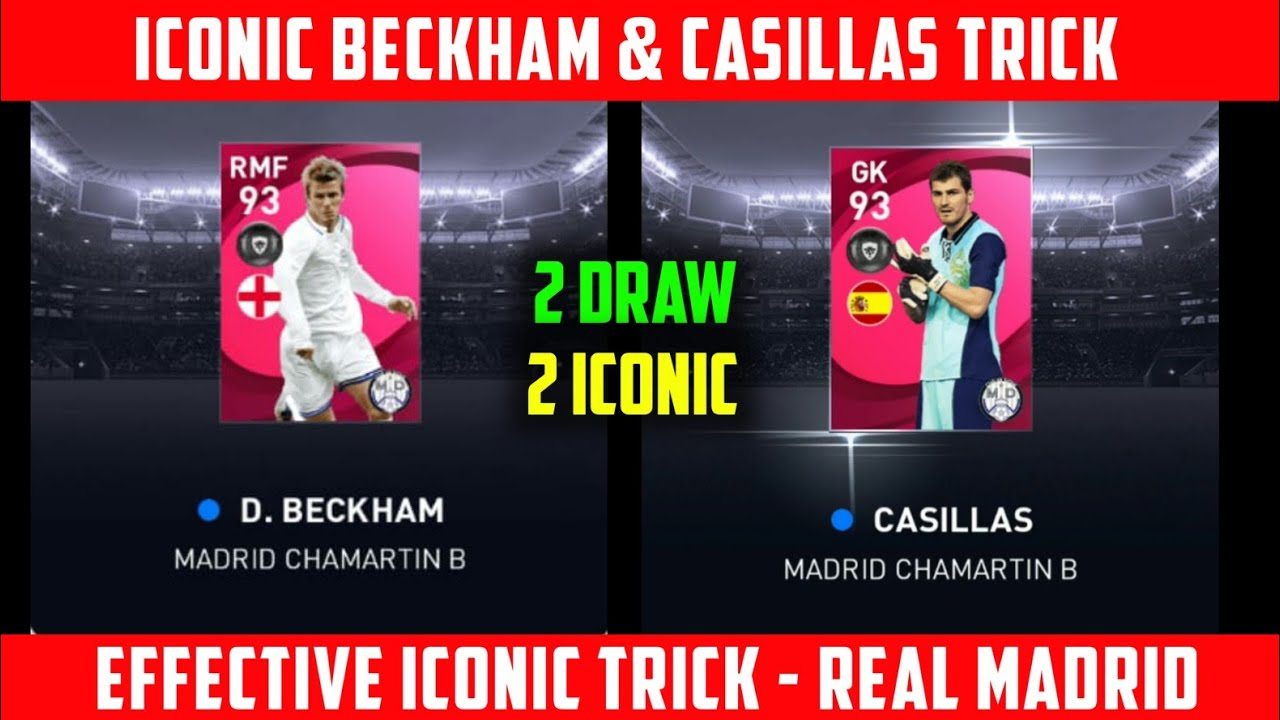 HOW TO GET D. BECKHAM AND CASILLAS FROM REAL MADRID ICONIC MOMENTS | GOT 2 ICONIC | PES 2021 MOBILE