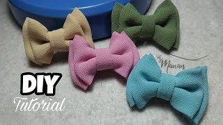 DIY || TUTORIAL MINI BOW SIFON / Cara Membuat Pita Dobel